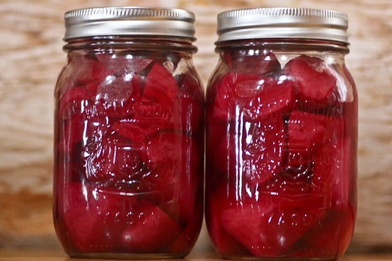 Home Canning: Canning Plain Beets