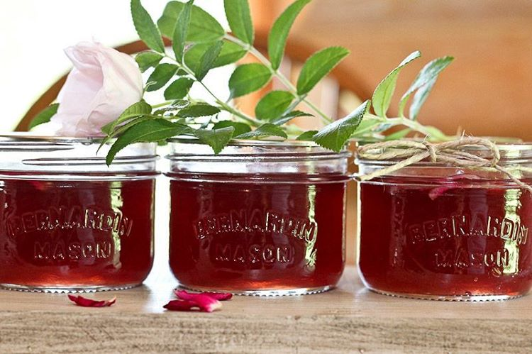 Rose Petal Jelly Recipe