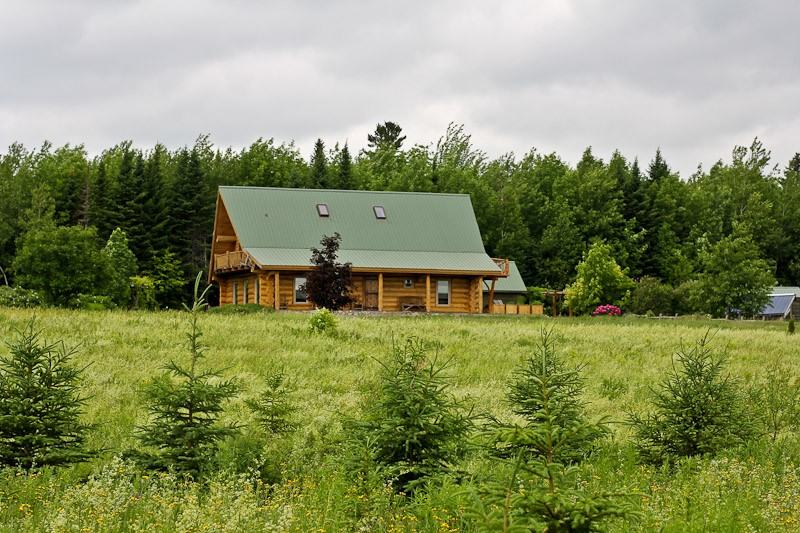Home; 90 acres nestled in the woods of New Brunswick.