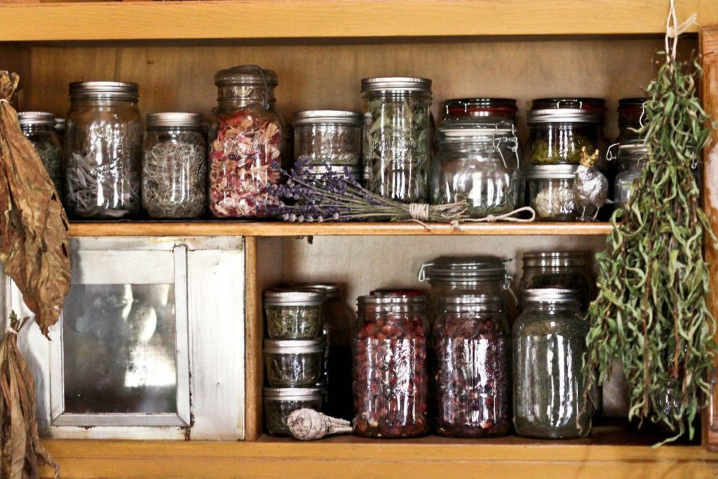 Homestead herb cabinet
