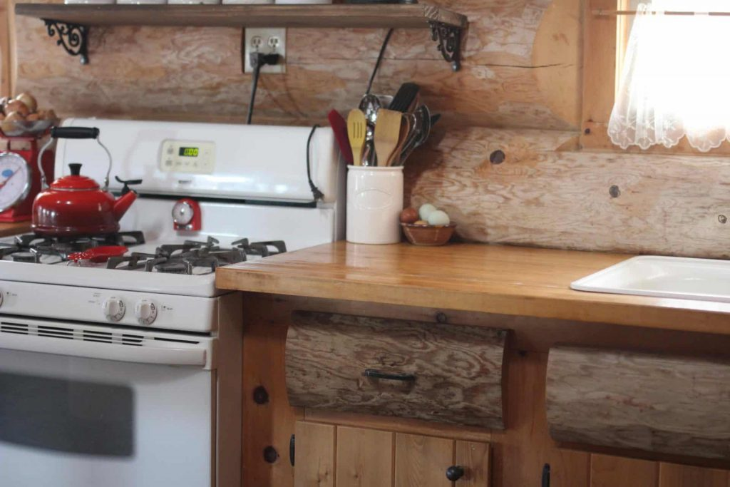 The homestead Kitchen - off grid stoves