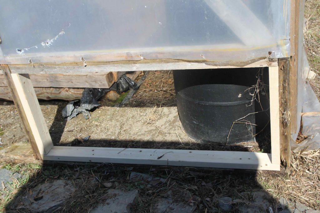 Homestead life: Repairing the greenhouse