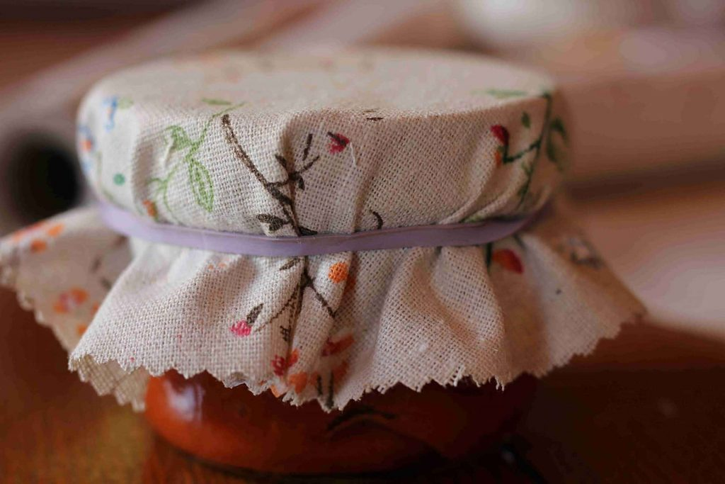 How to Make Fabric Jam Jar Covers