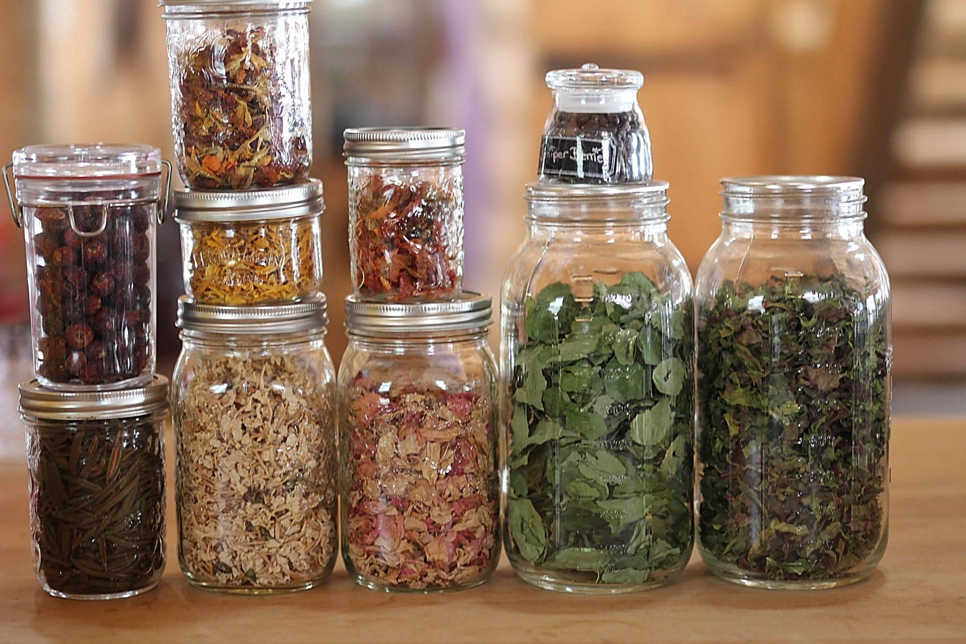 The Home-grown Herb Cabinet