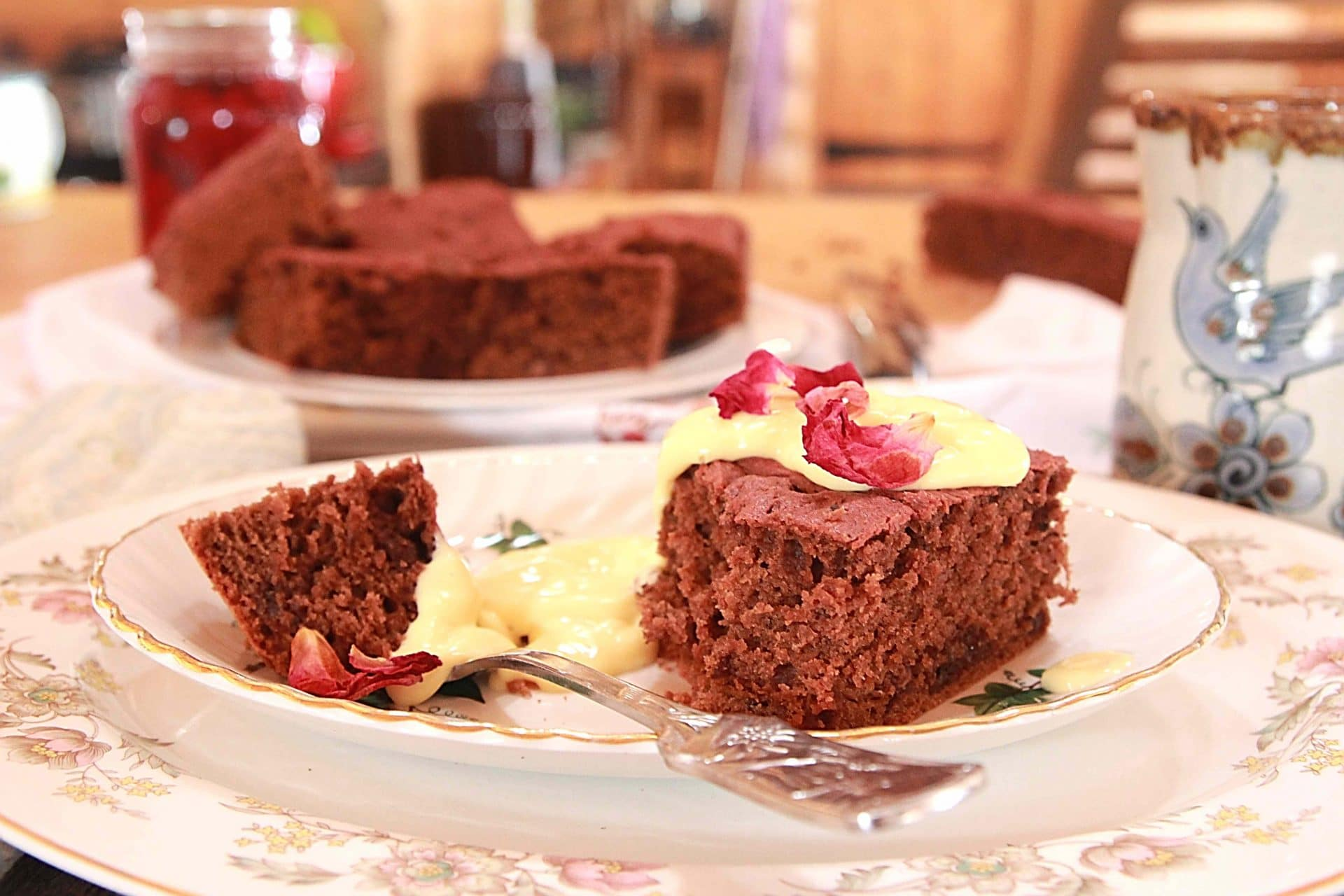 Old Fashioned Beetroot Chocolate Cake